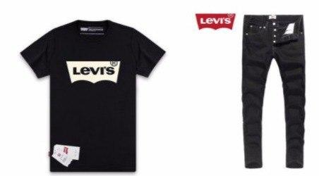 Футболки и джинсы Levis