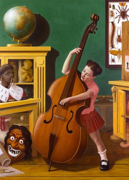 Falk Gernegroß (1973, Marienberg, Germany). 1994-1997 изучал скульптуру в Лейпциге.2001-2008 изучал живопись в Академии визуальных искусств Лейпцига (Academy of Visual Arts Leipzig) у профессора