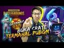 BUKA CRATE TERMAHAL DI PUBG SAMPE FULL SET! GIVEAWAY UC! - PUBG Mobile Indonesia