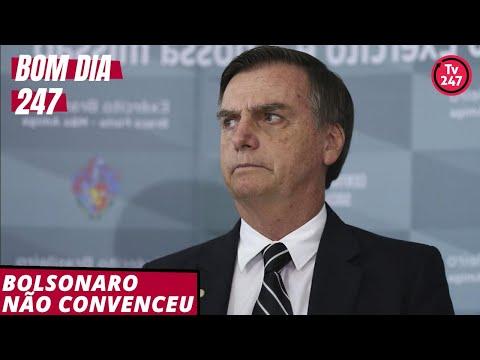 Bom dia 247 (9.12.18): Bolsonaro não convenceu
