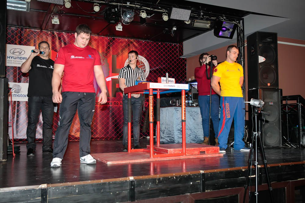 Ivan Kormilchev (red shirt) - Evgeny Kriulin (yellow shirt)