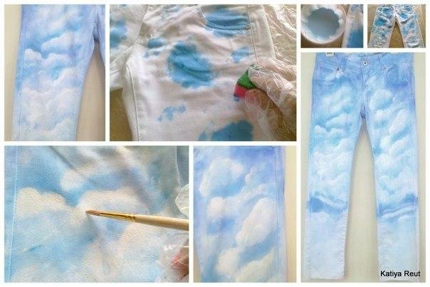 Как покрасить джинсы белизной в домашних условиях