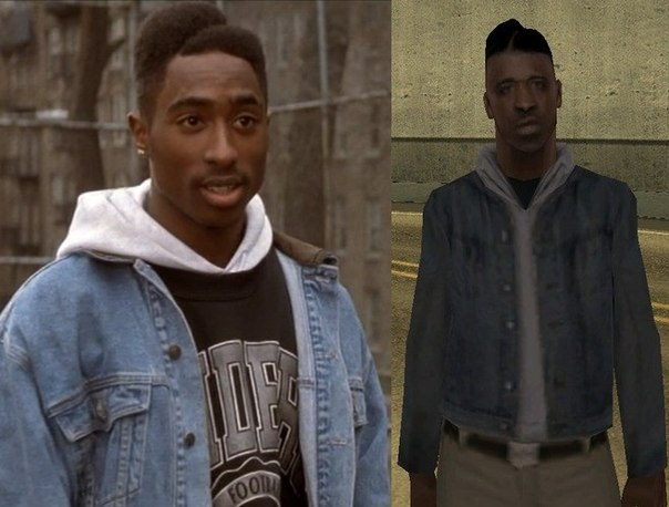 VGFacts - GTA San Andreas- Boyz n the Hood Reference