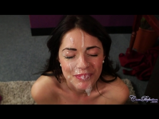 Cuckold ava dalush gets double a lot of sperm on face