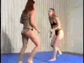 Choking woman's wrestling Nicole vs Hannah Laides Wrestling and Submission ...