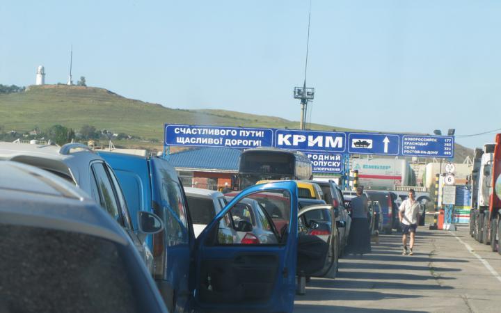 Ростов-на-Дону приостановил наземное сообщение с Крымом