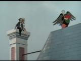 Король и птица (Франция, 1980) фрагмент советского дубляжа полнометражного мультфильма (А. Джигарханян)