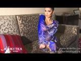 КОКЕТКА BOUTIQUE - платье синее с шифоновой накидкой 13