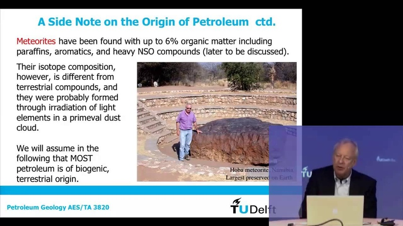 TU Delft - 1 02 Petroleum Geology 2 The carbon cycle, organic matter and maturation