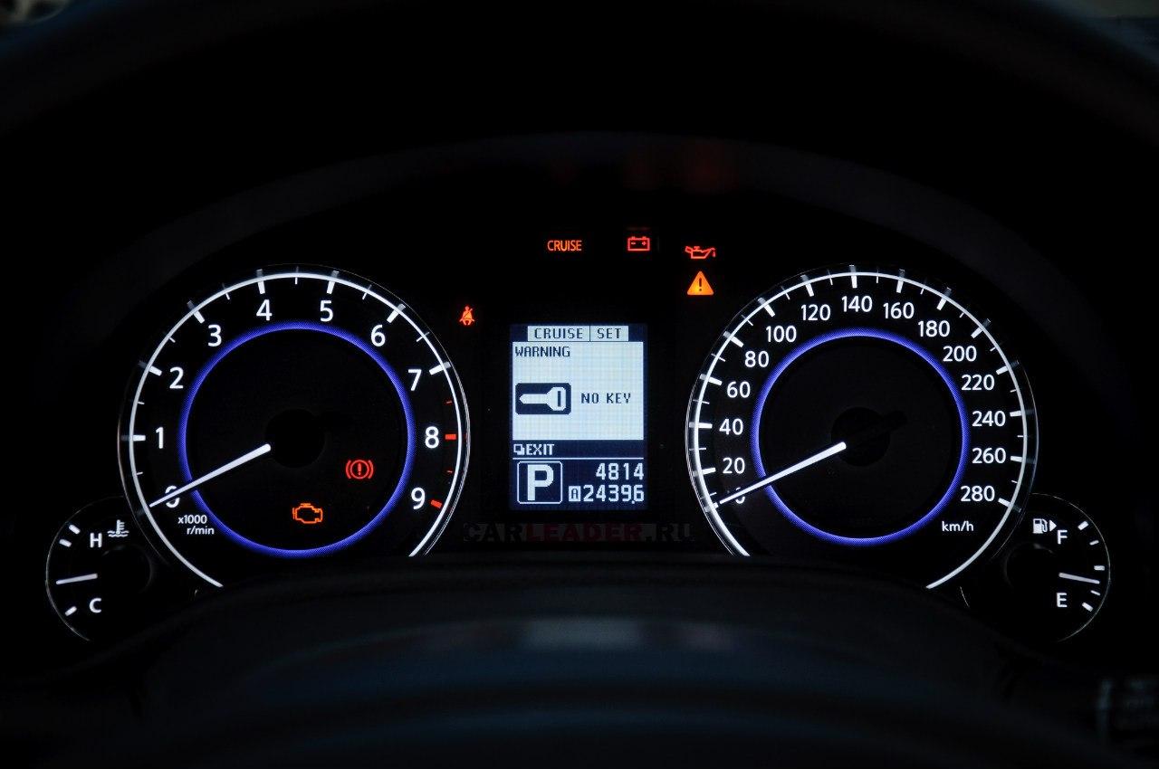 Infiniti G37 speedmeter
