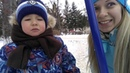 Vlog снова сани как лечить ребенка гулять где утки Наталья Бубнова