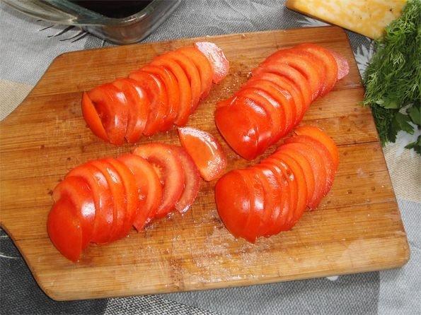 """Баклажаны с сыром и чесноком """"Баклажанный веер"""". Вам"""