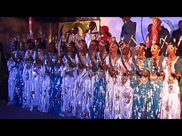 Национальный танец Афаров. Джибути.