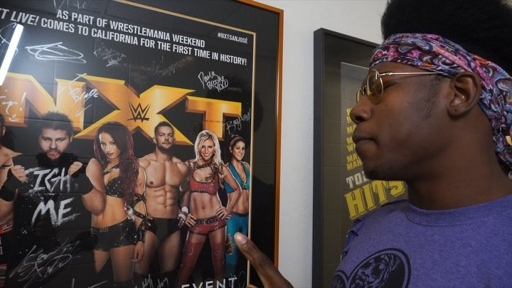 """WWE NXT on Instagram: """"Do you remember your first time NXTSanJose? @velveteenwwe does. And plans to create another first with a victory on Saturda..."""