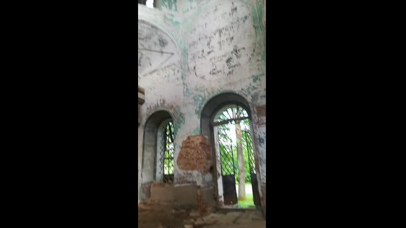 С. Уть, старая церковь