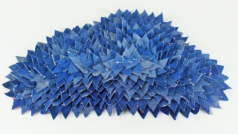 পুরাতন জিন্স প্যান্ট দিয়ে নাইস ডোরমেট   DIY-Art-and-Craft-Out-Of