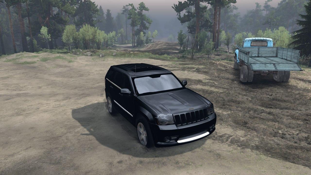 SRT8 в старом кузове 2009 для Spintires - Скриншот 2
