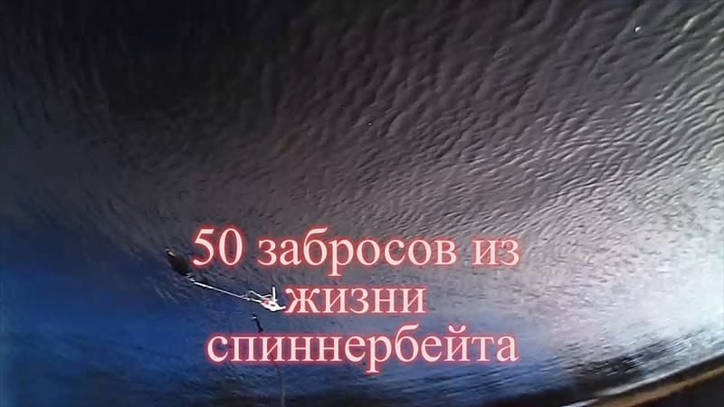 50 забросов из жизни спиннербейта.