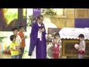 6 Bạn Nhỏ Đến Với Lòng Chúa Thương Xót Dành Tặng Heo Đất Để Làm Việc Bác Ái