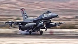 F-16 Fighter Jets Preflight + TakeoffLanding At Nellis AFB