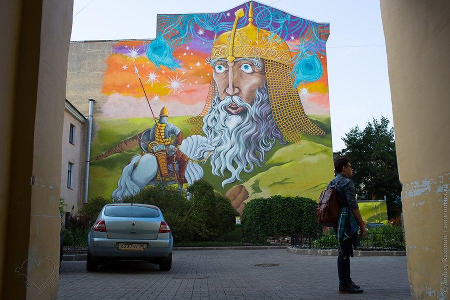 Дворик искусств Петербург Маяковская 6