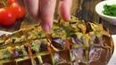 Печеные Баклажаны С Сыром- Самый Простой И Вкусный Рецепт