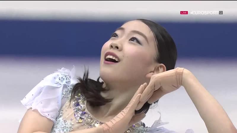Rika KIHIRA JPN SP 2018 NHK Trophy