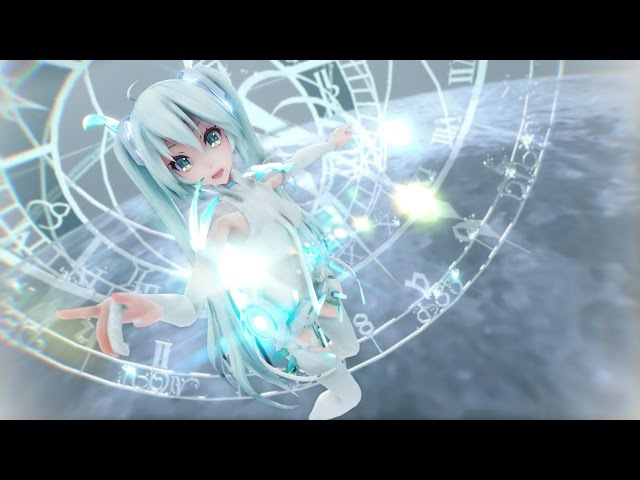 【MMD】「見えない黒に堕ちていけ/Fall into Unseen Darkness」 MikuMeiko
