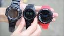 Сравните скорость позиционирования по GPS F5 F7 и F18