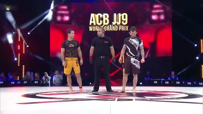 Augusto Mendes vs Milton Bastos Quarterfinal of ACB JJ 9