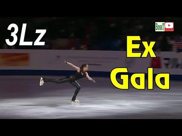 👯 Alina ZAGITOVA - 3Lz, Ex Gala Final (WC 2019) [Full HD]
