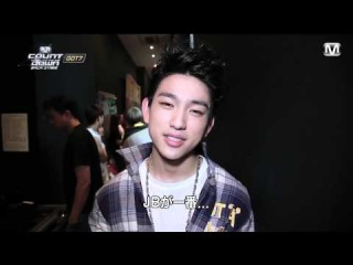 140718 M Countdown Backstage GOT7