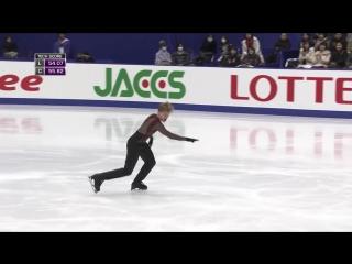 Deniss Vasiljevs. 2016 NHK Trophy. FS