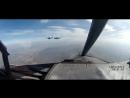 Летчики истребителей Су-30М2 отработали посадку на автомобильную дорогу