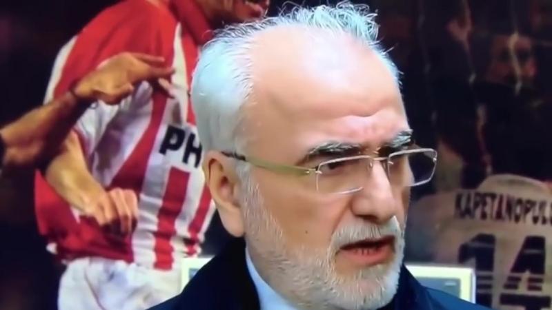Иван Саввиди против греческой футбольной мафии