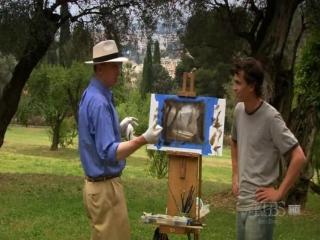 David Dunlop 4-Оливковая роща Ренуара на юге Франции