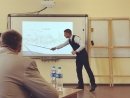 Моя защита дипломного проекта на кафедре ЛКР, ПГУПС-2018