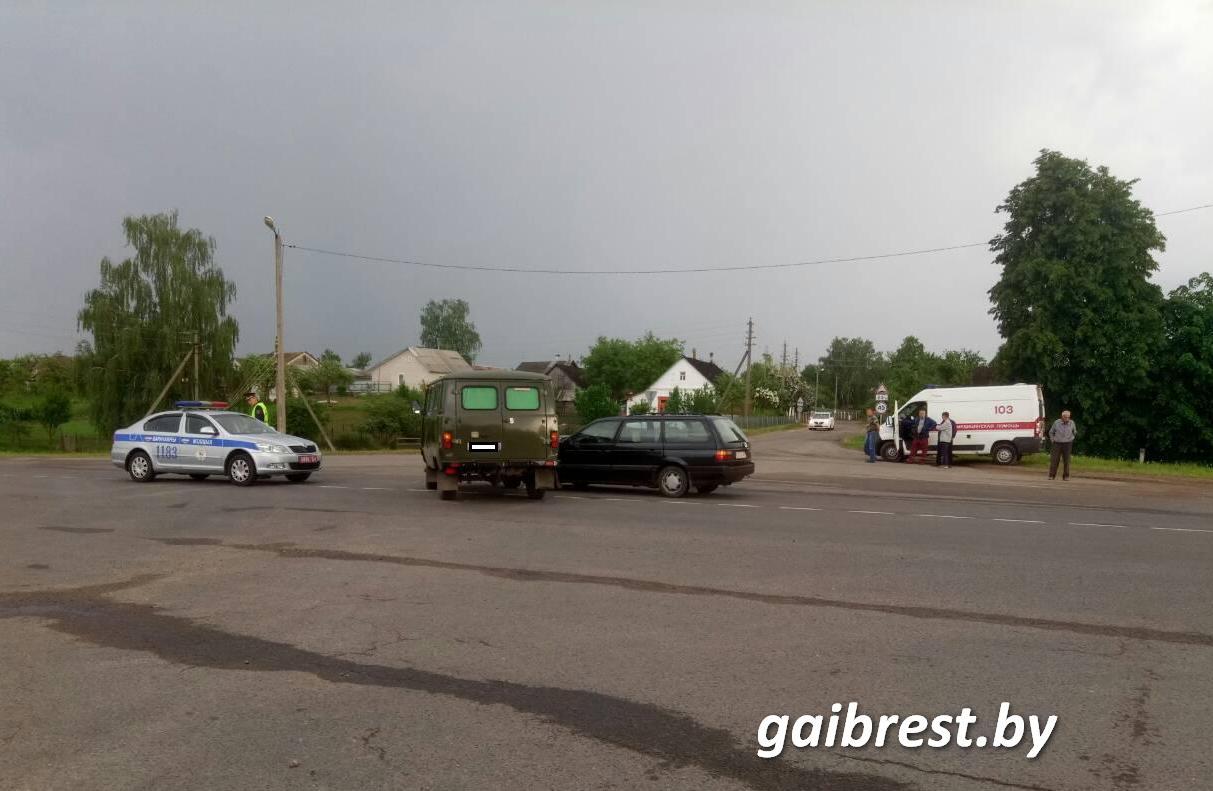 Барановичский район: в результате ДТП пострадал пассажир
