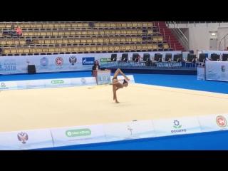 Лала Крамаренко - обруч (многоборье) // Международный турнир 2018, Казань