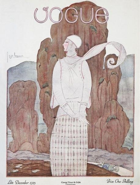 Обложки журнала Vogue 1917-1925 гг. от культового фэшн-иллюстратора