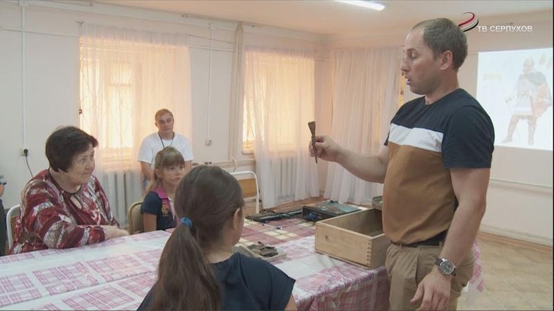 В Серпуховском историко-художественном музее для детей организовали «Археологическую песочницу»