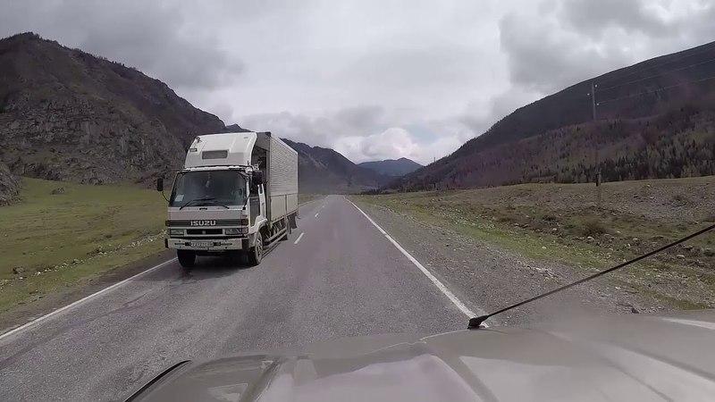 Вверх по Чуе на Автомобиле Горный Алтай