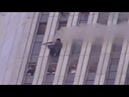 VIDEO Man blown out of WTC Tower by Explosives