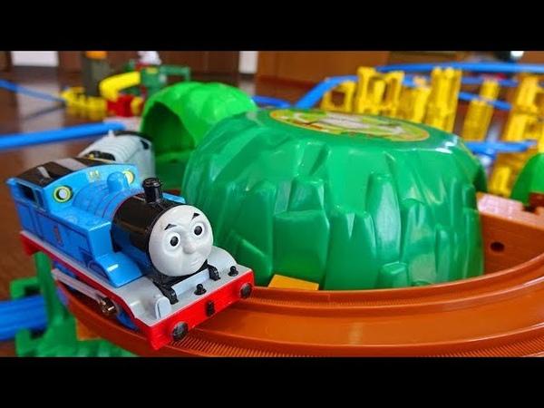Thomas Railway Toy. Plarail Mountain Rail Set Sodo Island Set
