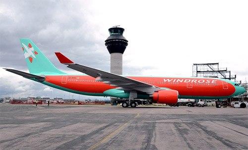 Первый самолет Airbus A330 в ливрее Розы Ветров Опубликованы фотографии уже окрашенного первого самолета Airbus A330...