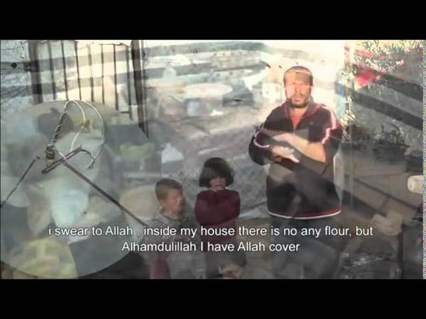 Some of the suffering of poor families in Gaza 2015