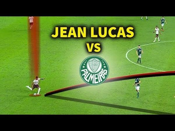 Descubra por que Jean Lucas foi MUITO IMPORTANTE para o Flamengo contra o Palmeiras