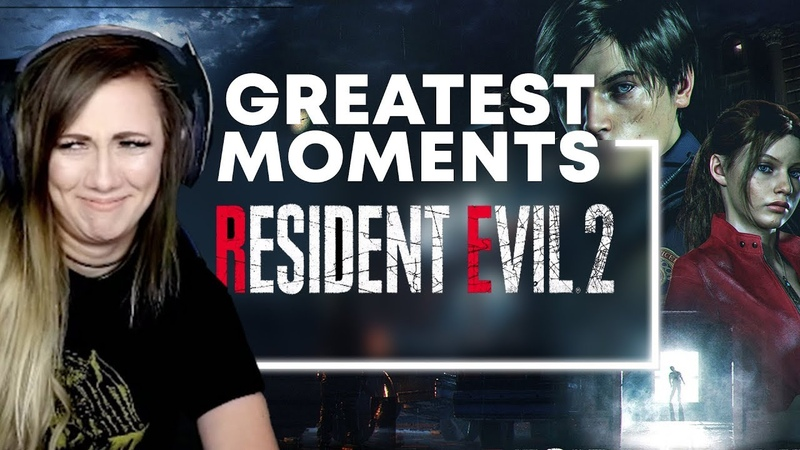 RESIDENT EVIL 2 | SCARIEST FUNNIEST MOMENTS | Lindsay Elyse
