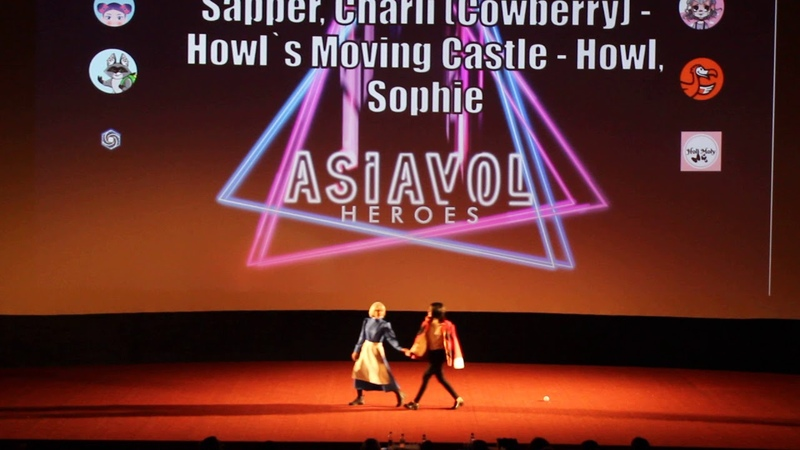 ASIAVOL 2019 | Sapper, Charli Cowberry - Howl`s Moving Castle - Howl, Sophie