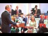 Владимир Путин  подводит итоги переговоров на саммите ШОС в Китае.